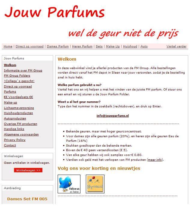 Eerste webshop